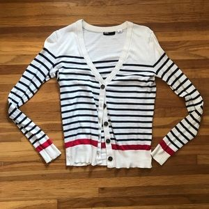 Perfect Striped Cardigan - Urban Outfitters // BDG